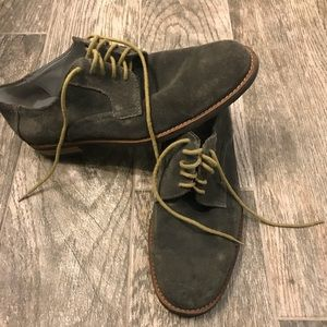 Calvin Klein suede derby shoes
